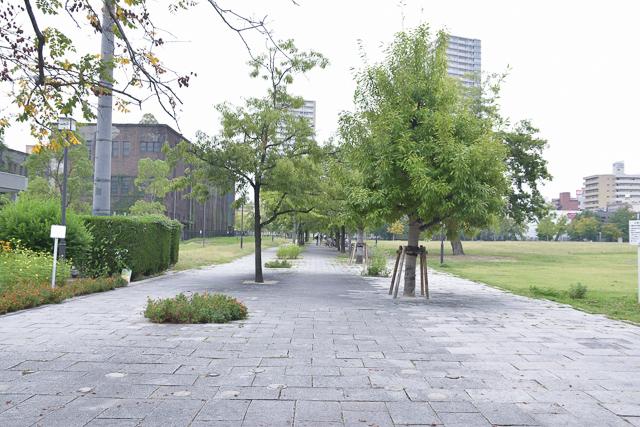 周辺環境・近くの東千田公園 広島中区のデザイナーズDOLCE竹屋町