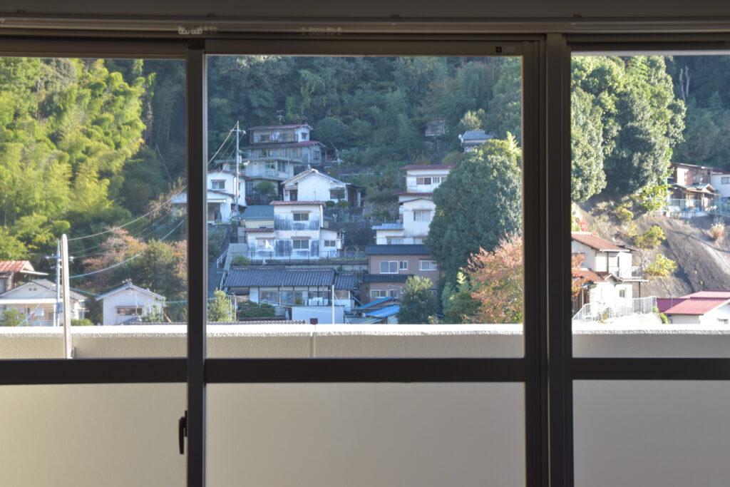 牛田の新築賃貸マンション「ビーズヒルズ ステージ」のお部屋からの眺め