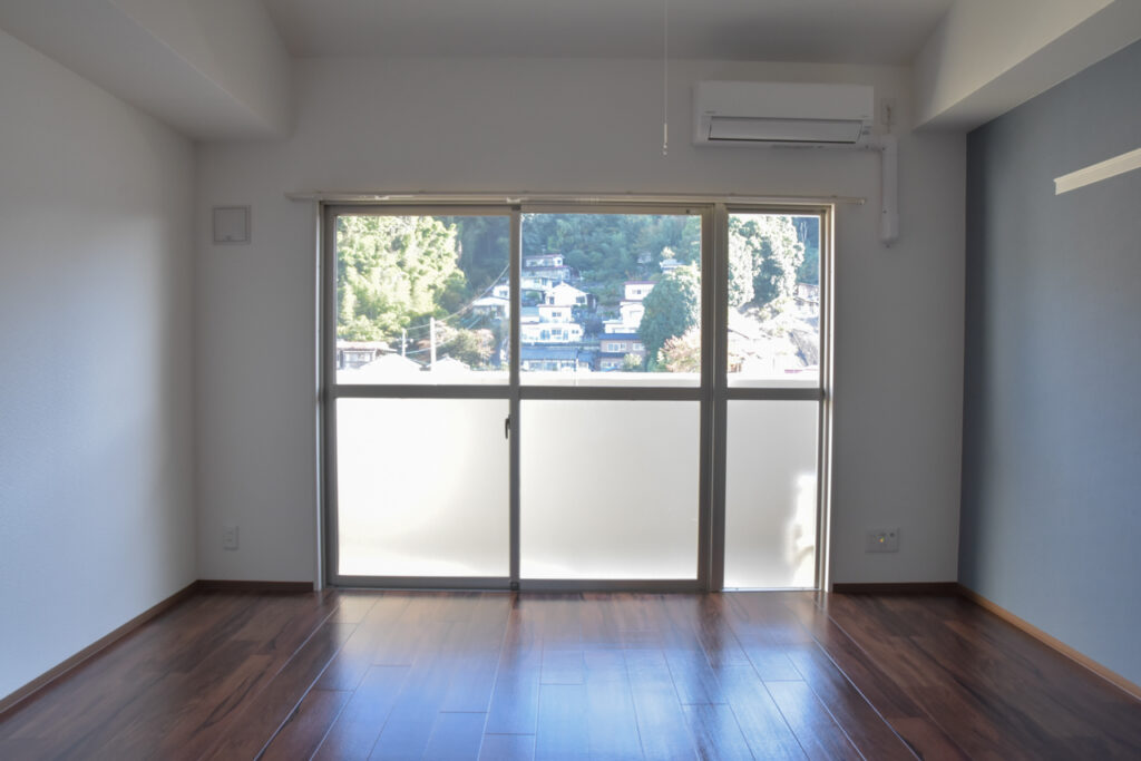 牛田の新築賃貸マンション「ビーズヒルズ ステージ」の開放的なお部屋