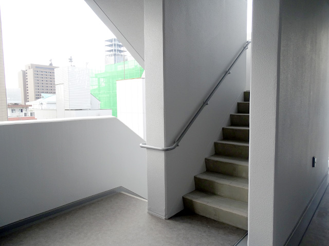 階段もちゃんとあります