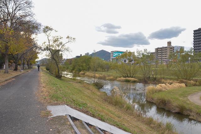 川内第一公園付近・古川